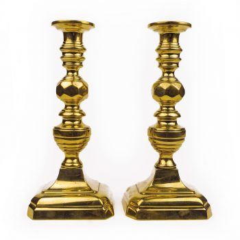 Brass candlesticks (1)