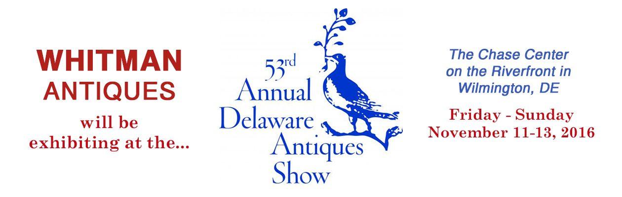 53rd Annual Delaware Antique Show, 2016