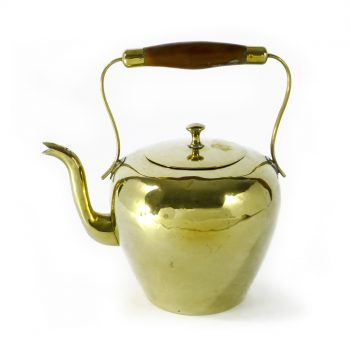 Dutch Brass Kettle. Circa 1800