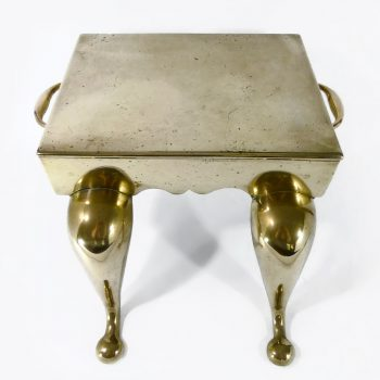 English Brass Cast Footman. Circa 1840