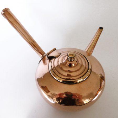 Very Rare Copper Gravy Pot. Circa 1875