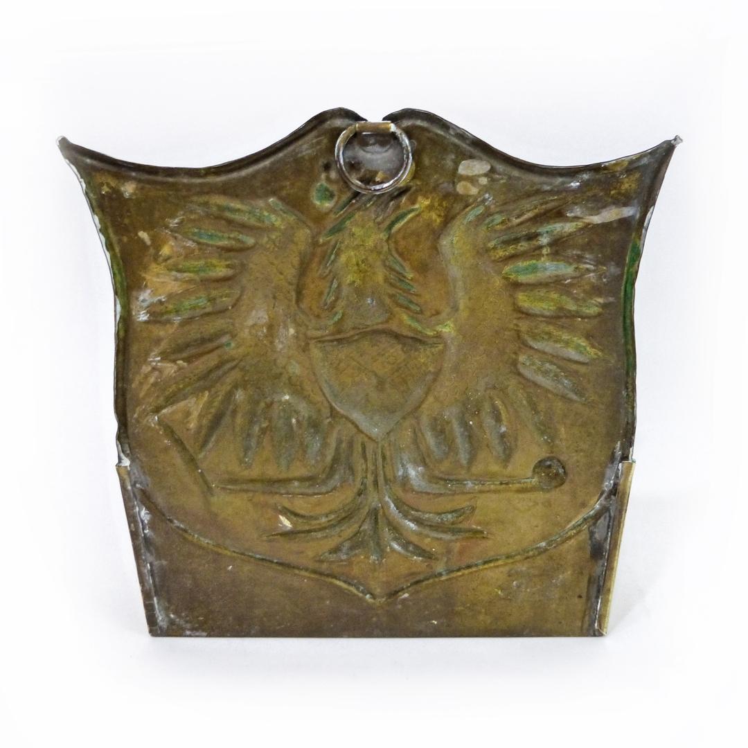 English Or Dutch Brass Wall Sconce Circa 1875