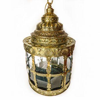 18th Century Dutch Brass Lantern