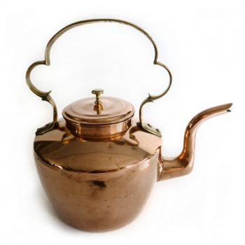Large English Copper Teapot. Circa 1820