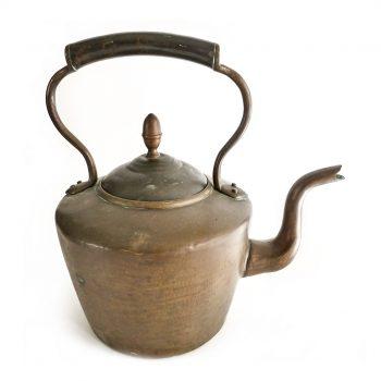 English Copper Kettle. Circa 1875