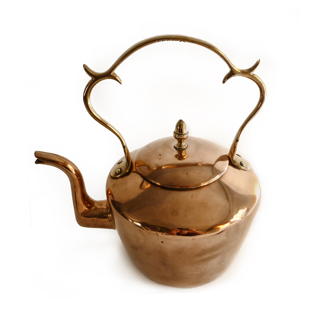 English Copper Kettle. Circa 1780