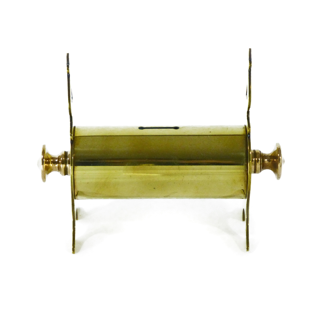 English Brass Bank. Circa 1875