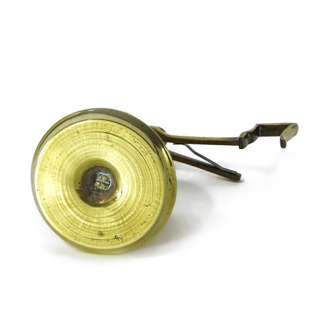 Dutch Brass Wax Jack. Circa 1780
