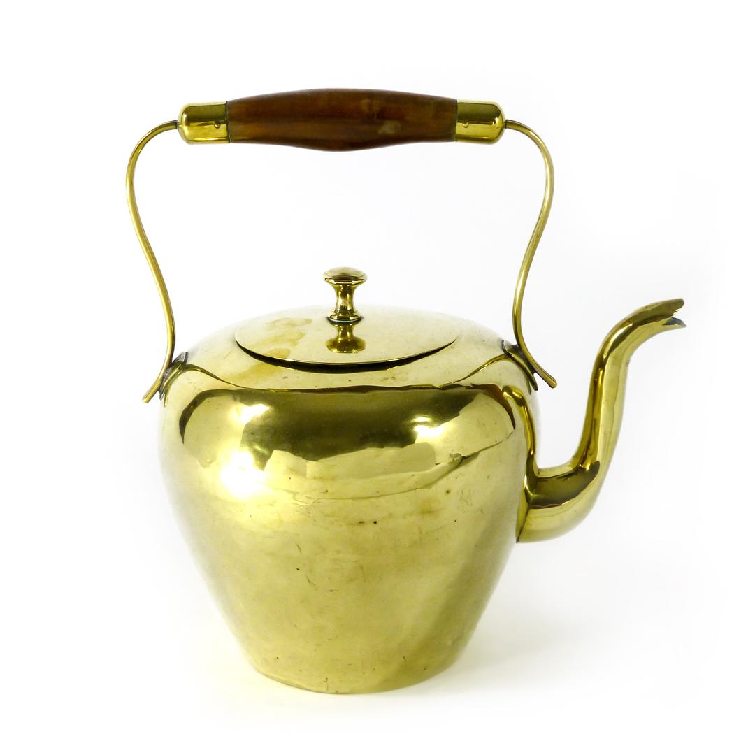 Dutch Brass Kettle. Circa 1800