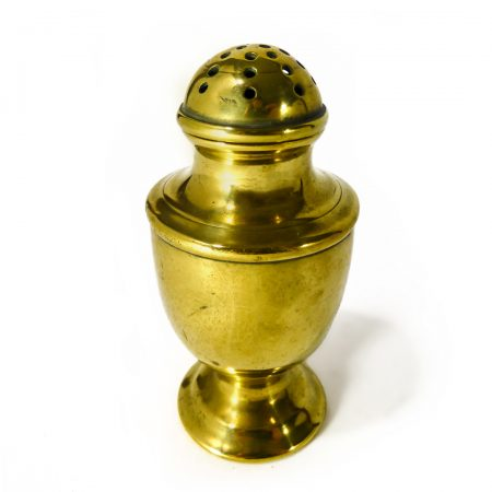 English Brass Caster. Circa 1800.