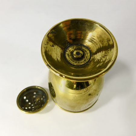 English Brass Caster. Circa 1800