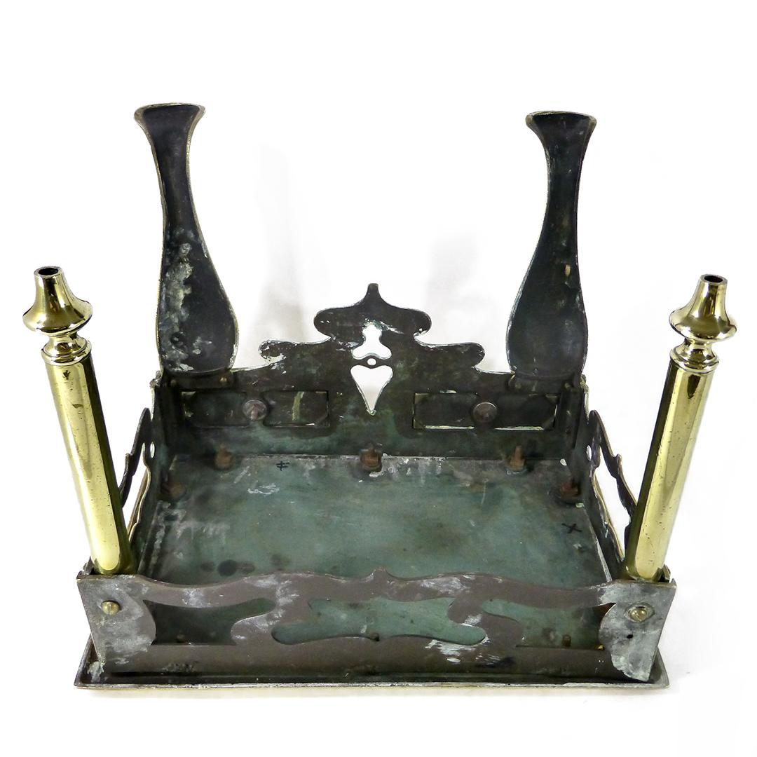 English Brass Victorian Footman. Circa 1860