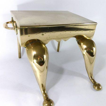 English Brass Cast Footman. Circa 1840
