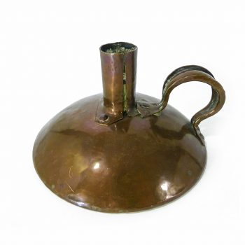 "English ""Arts & Crafts"" Copper Chamberstick. Circa 1900"