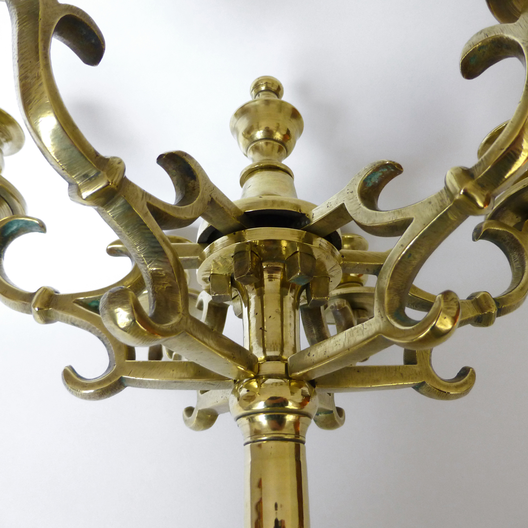 Fantastic Eastern European 6 Arm Candelabra