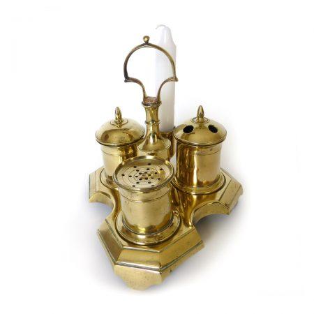 Spanish Brass Standish. Circa 1800