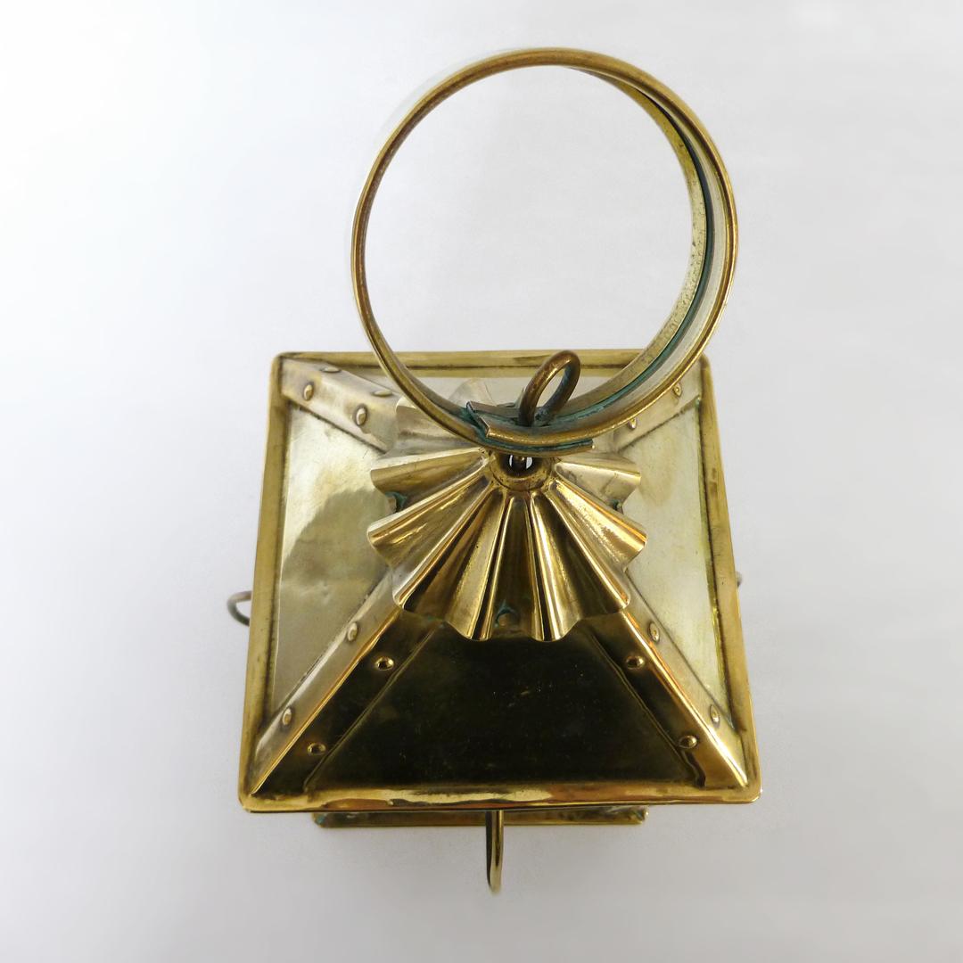 Sweet Small English Brass Lantern. Circa 1875