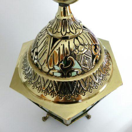 Rare Dutch Brass Lantern On Three Legs With Claw Feet. Circa 1800