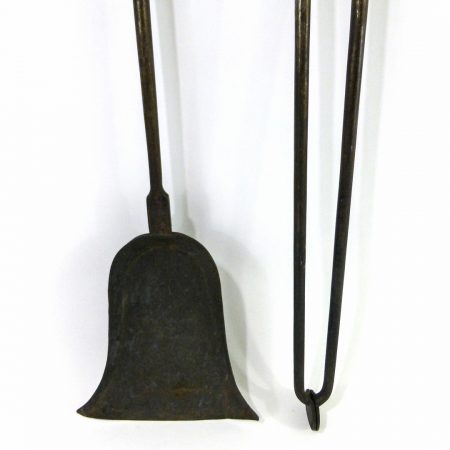 Pair of Steeple Top Fire Tools. New York. Circa 1790