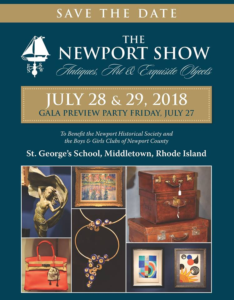 Save the Date – The Newport Show, July 28 & 29, 2018