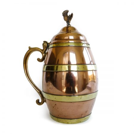 American Copper and Brass Tankard, Circa 1880