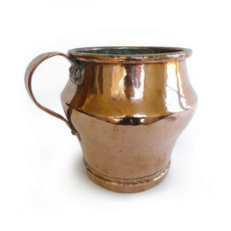 Russian Copper Mug, Circa 1850