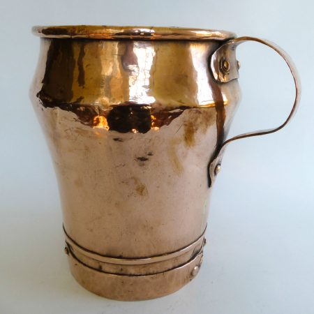 Unusually Large Russian Copper Pot, Circa 1850