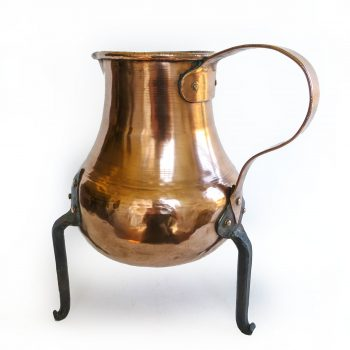 French Copper Water Kettle, Circa 1860