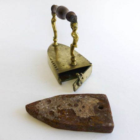 Danish Brass Slug Iron, Circa 1780